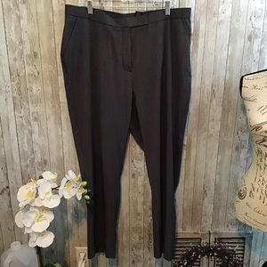 🌻 Women's Investments Dress Pants Gray Size 18S